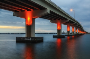 Max Brewer Bridge - Titusville, FL, DSC_3828-Edit