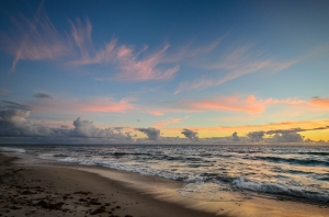 Pink Sky Angels - Indian Harbour Beach, Florida