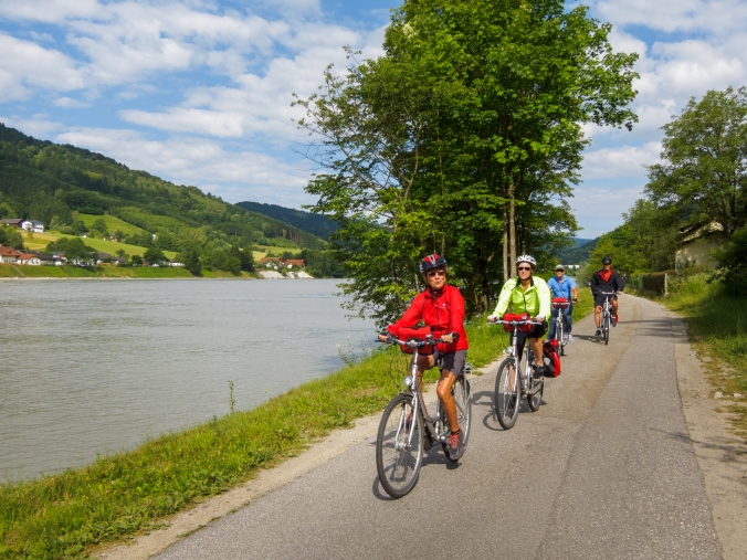 Biking the Danube in Austria - Engelhartszell - Aschach