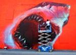 Artist Eating Shark - Eau Gallie, FL Art by Shark Toof