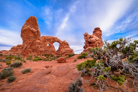 Turret Arch - Arches National Park - Moab, UT
