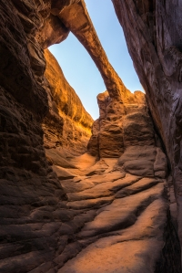 Surprise Arch - Fiery Furnace Hike - Arches National Park - Moab, UT