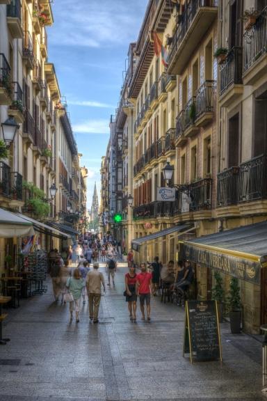 Old Town - San Sebastian