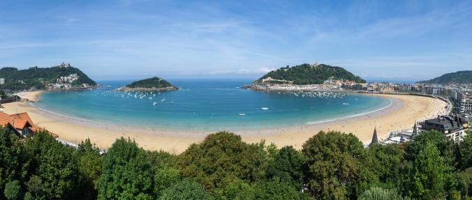 A picture of paradise - San Sabastian, Spain