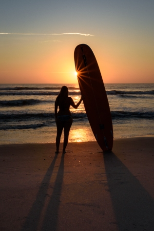 Her secret place - Cocoa Beach, FL