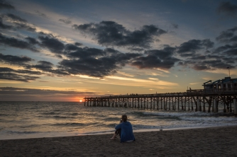 She captured the moment - Cocoa Beach, FL