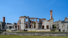 The Dungeness Mansion - Cumberland Island, GA