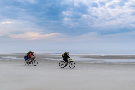 Beach Campers on Cumberland Island