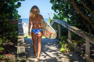 Surfer Girl - Cocoa Beach, FL