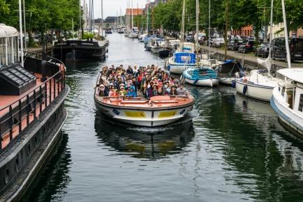 Canal Tours -Copenhagen, Denmark
