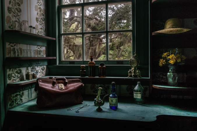 Dr. Marius Johnston's Apothecary- Plum Orchard Mansion - Cumberland Island, GA