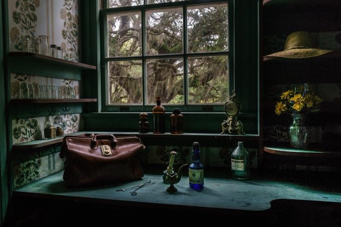 Dr. Marius Johnston's Apothecary- Plum Orchard Mansion - Cumberland Island, GA