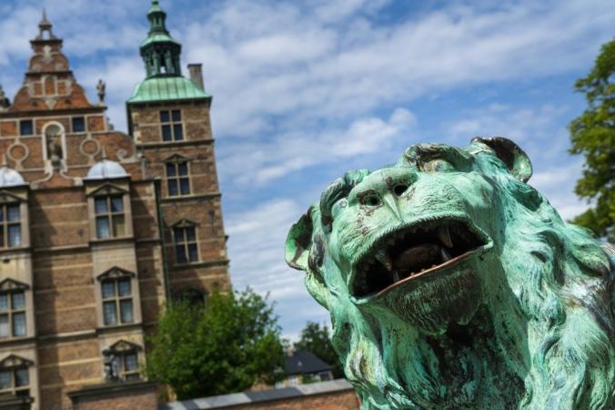 Standing Guard - Rosenborg Palace - Copenhagen, Denmark
