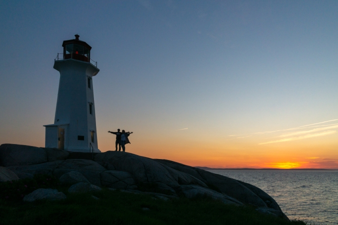 Peggy's Point Lighthouse - Peggy's Cove, NS