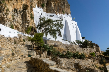 Monastery of the Virgin Mary Hozoviotissa - Amorgos, Greece