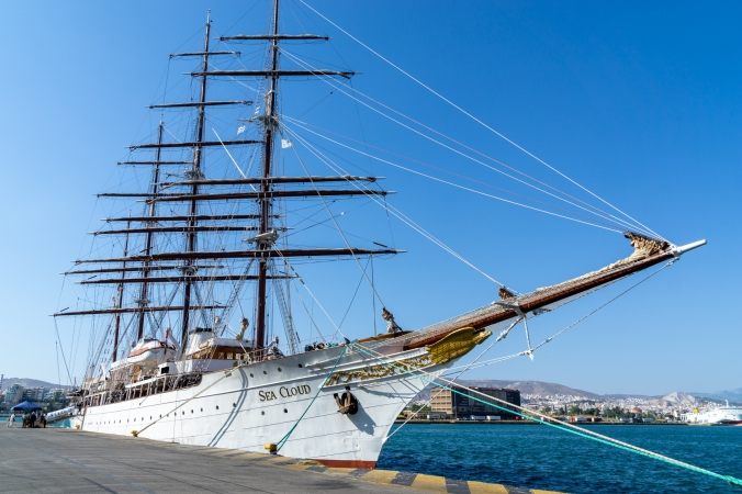 The Sea Cloud - Piraeus, Greece