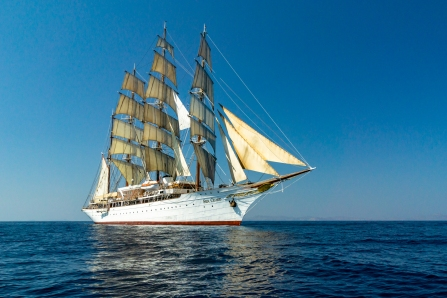 The Sea Cloud - Cyclades Islands, Greece