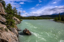 Athabasca River, Old Fort Point Loop Trail - Jasper National Park