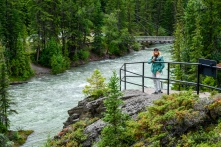 Maligne Canyon Trails, Fifth Bridge - Jasper National Park