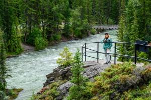 Maligne Canyon Trails, Fifth Bridge - Jasper National Park