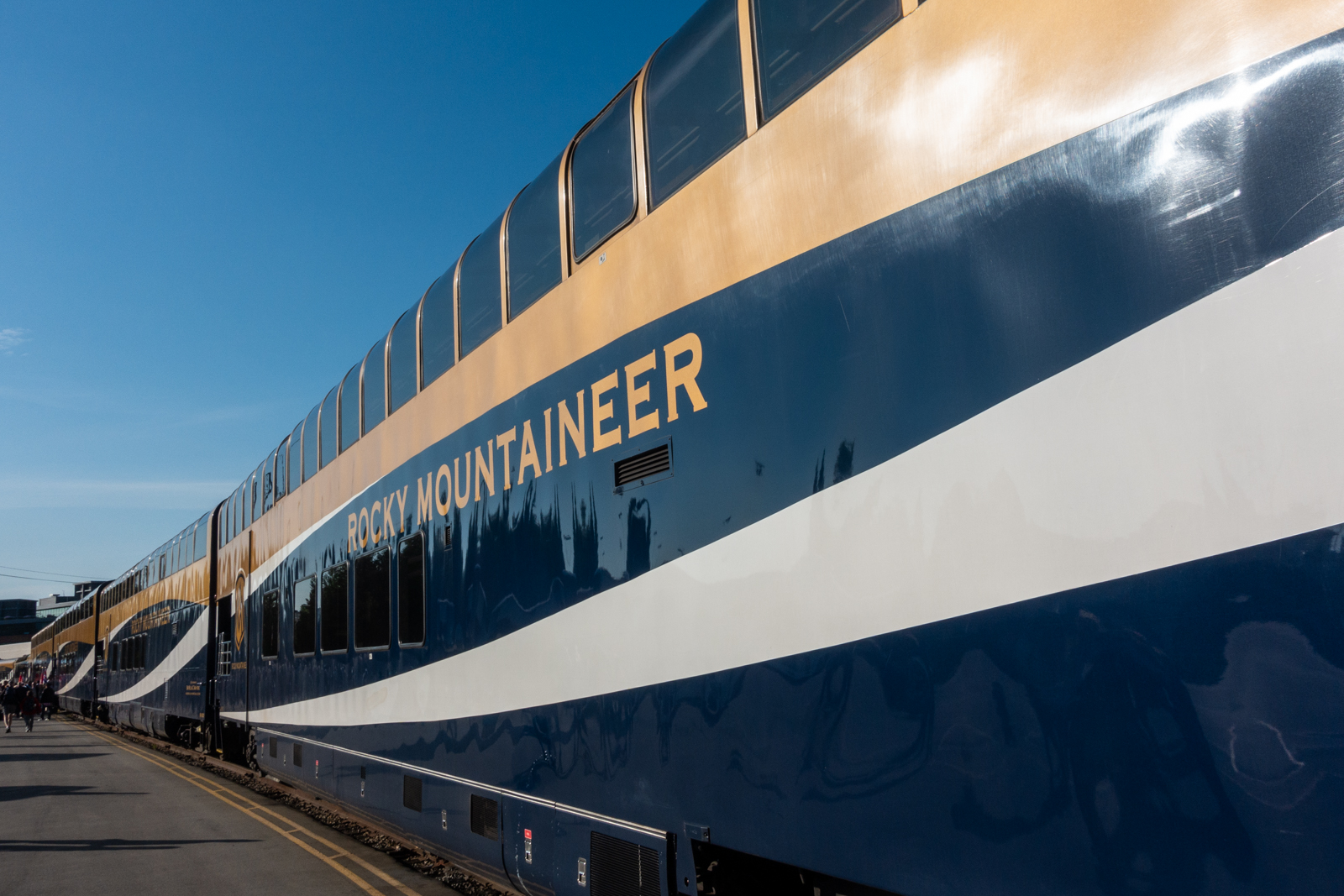 Aboard the Rocky Mountaineer - Vancouver to Kamloops