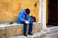 Artist at Work - Pienza, Italy