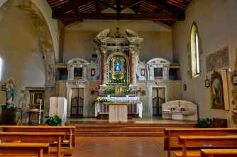 St. Leonardo Church - Montefollonico, Italy