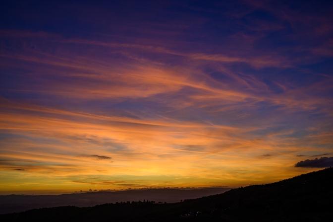 Sunset - Castellina in Chianti, Italy
