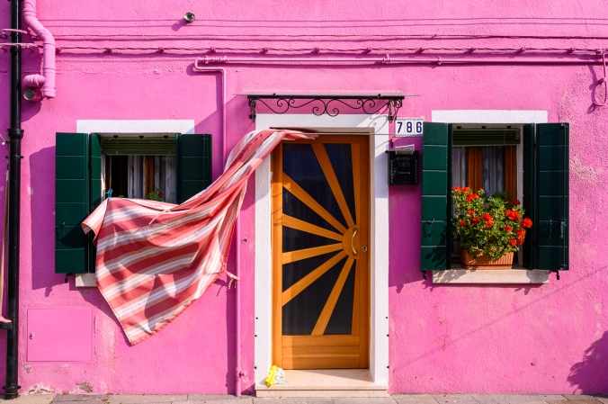Breezy Afternoon - Burano, Italy